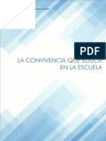 22-Cuadernillo La Convivencia Que Educa en La Escuela