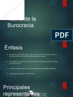 Teoria de La Burocracia Max