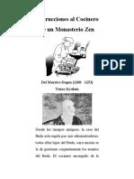 Instrucciones Al Cocinero de Un Monasterio Zen - Tenso Kyokun