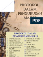 Protokol Dlm Pngurusan Majlis