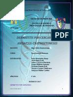 Dermatitis Por Cercarias, Anizakios y Gnathostomosis