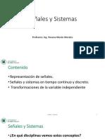 Señales y Sistemas Clase1