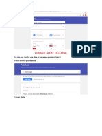 google alert tutorial