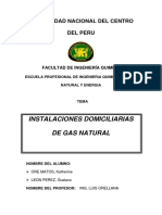 Informe Instalcion de Gas Natural[1]