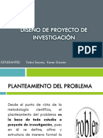 Diseño de Proyecto de Investigación