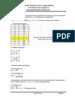 Actividad - Foro 2 - Calculo Numerico por Computadora