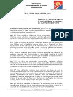 """Lei 3.195 - Cã""""Digo de Obras Do Municã-pio de Altamira"""