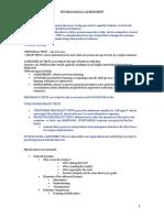 Assessment Handout 1