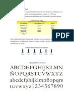 Tipografias Epoca