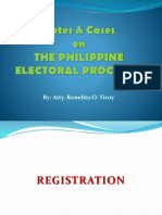 Election Law Cases