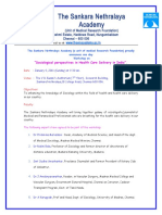 Workshop - Sociological Perspectives in Health Care Delivery in India