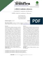 PMBOK y PRINCE 2 similitudes y diferencias.pdf