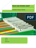 klasifikasi dan indeks arsip