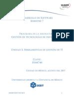 Unidad 3 Herramientas de Gestion de TI (3)