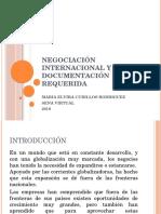 Negociación Internacional y Documentación Requerida