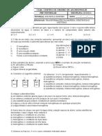 Pré-Vestibular - Química - 1ª Semana - Imprimir