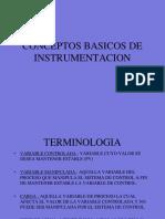 Conceptos Básico de Instrumentación