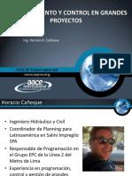 AACE-Perú 3erCongreso2015 Technical Presentation Horacio-Caneque