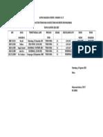 DAFTAR MAHASISWA PESERTA  YUDISIUM  KE-27.doc