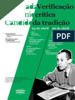Cartaz Antonio Candido E