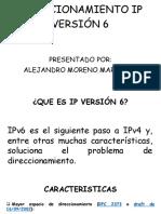 Direccionamiento Ip Versión 6