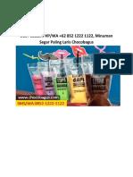 BEST SELLER! HP/WA +62 852 1222 1122, Minuman Segar Paling Laris Chocobagus