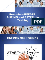 Procedure_BEFORE_DURING_and_AFTER_the_Training.pptx