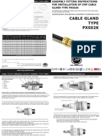 CMP PXSS2K Installation Fitting Instructions FI404 Issue 2 1