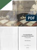 Descartes Rene Correspondencia Con Isabel de Bohemia y Otras Cartas