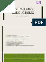 Estrategias conductismo