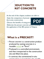 Week 1c - Introduction to Precast Concrete