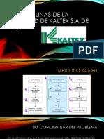 8 Disciplinas de La Calidad de Kaltex S