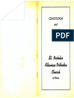 Constitution and by-Laws 1955