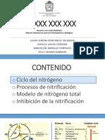 Presentación Nitrificación