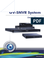 Gv Snvr User Manual(Snvr0811v250 Um a)