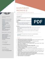 Gustavo Mendez CV (1)