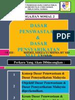 Dasar Penswastaan & Dasar Pensyarikatan Malaysia