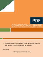 6. Condicional Simple