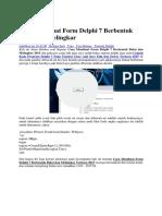 Cara Membuat Form Delphi 7 Berbentuk Bulat Dan Melingkar