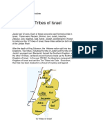 Stone of Scone Lost Tribes of Israel Scotland