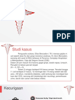 White Medical Symbol PowerPoint Template