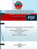 Penjelasan Undang-undang Republik Indonesia Nomor 3 Tahun 1992