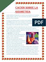 Explicación Sobre La Geometría
