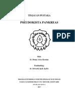 Pseudokista Pancreas Tinpus Donny
