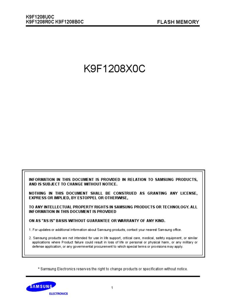 Samsung K9F1208U0C(Mikrotik) | Flash Memory | Electronics