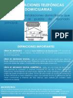 INSTALACIONES TELEFÓNICAS DOMICILIARIAS