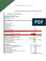 Análisis de la propuesta de MEP  CRSE  1.4  a  1.8  mts    propuesta huaron con scoop 0.75 yd3
