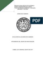 Universidad de San Carlos de Guatemala Dh