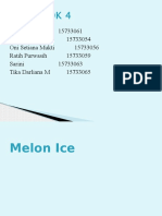 Ppt Ice Melon