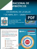 Uso Racional de Antibioticos Dia Mundial de La Salud OPS 2011 A